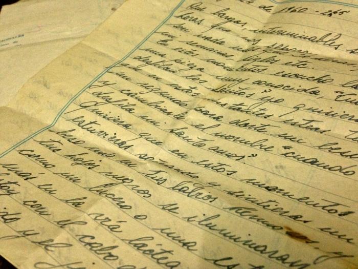 Cartas de amor I