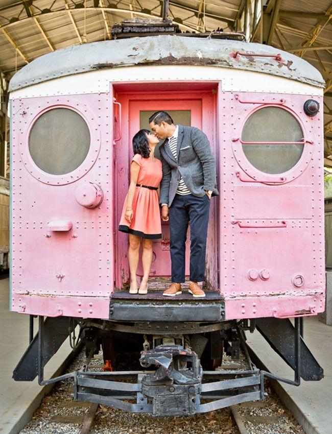 tren rosa